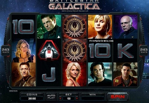 Microgaming Battlestar-Galactica™-video-slot