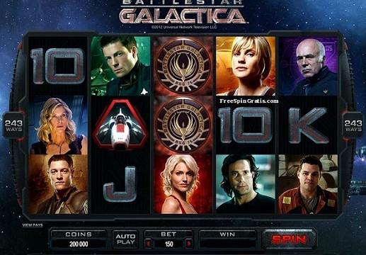 Slot video Battlestar-Galactica ™ Microgaming